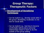 group therapy therapeutic factors26