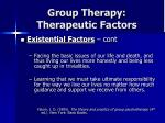 group therapy therapeutic factors34
