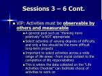 sessions 3 6 cont