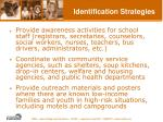 identification strategies
