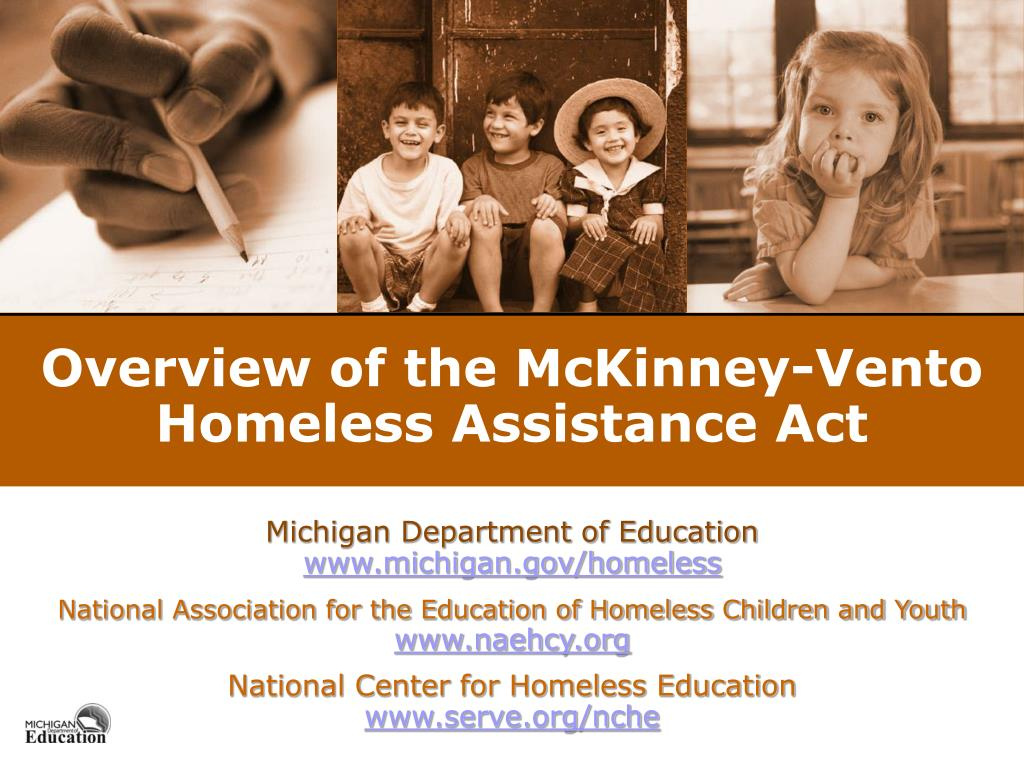overview of the mckinney vento homeless assistance act l.
