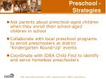 preschool strategies55