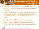 unaccompanied youth strategies59