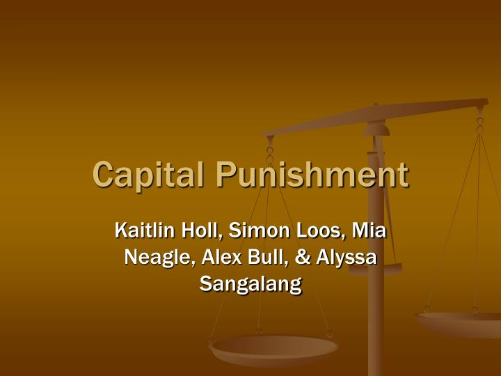 an ethical evaluation of capital punishment Should physicians participate in state-ordered but even evaluation of lethal injection capital punishment code of medical ethics.
