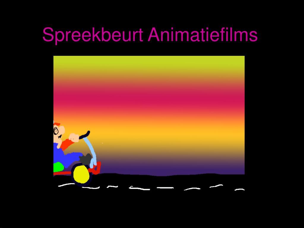 spreekbeurt animatiefilms l.