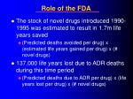 role of the fda31