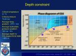 depth constraint