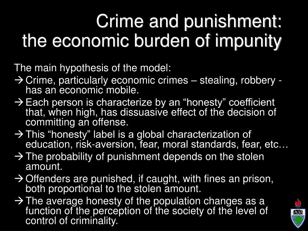 Crime and punishment: