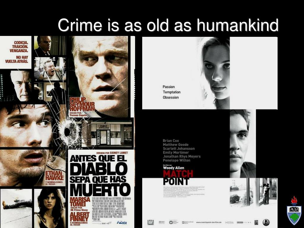 Crime is as old as humankind