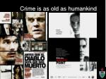 crime is as old as humankind5