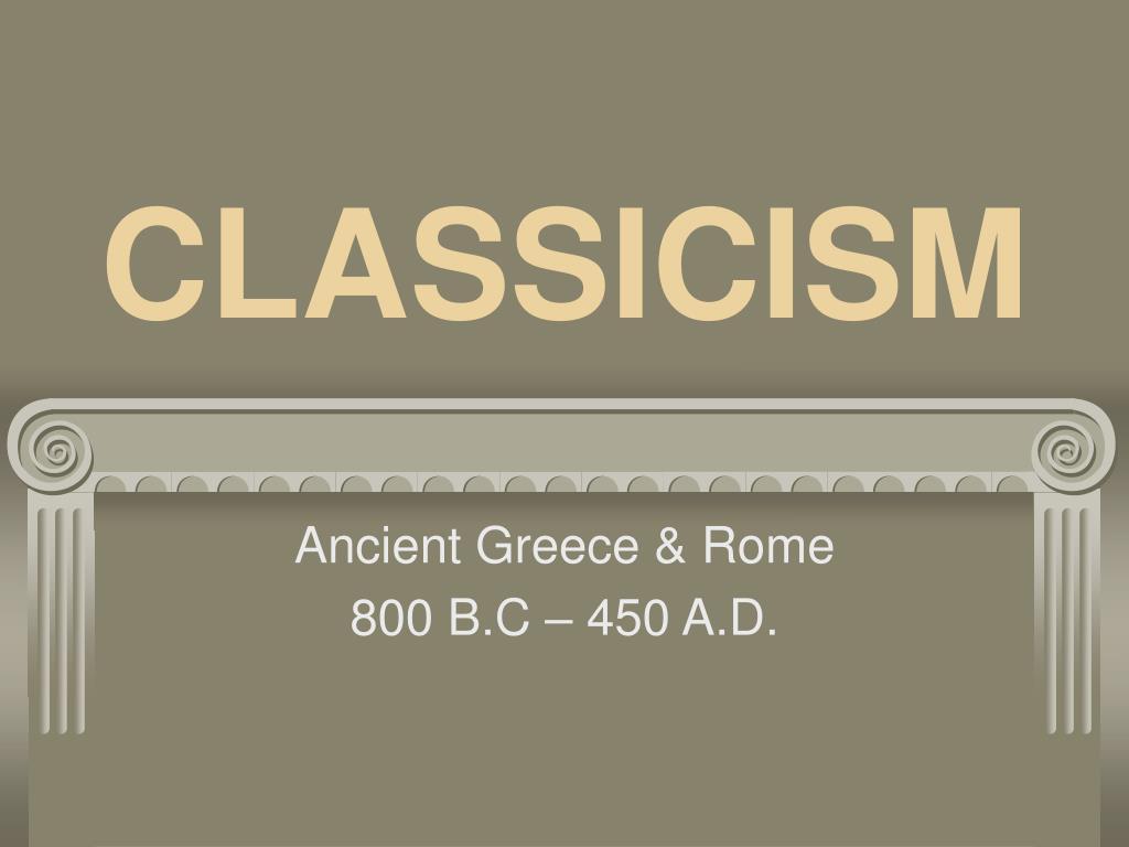 classicism l.