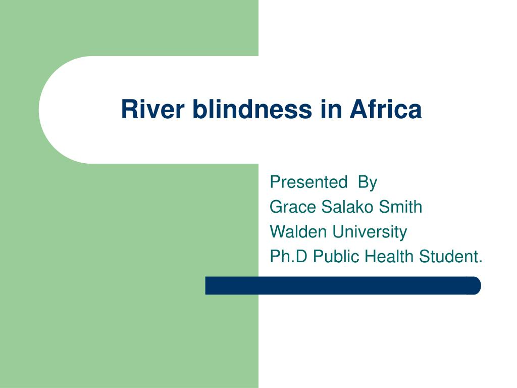 river blindness in africa l.