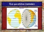 les parall les latitude