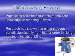 differentiating process13