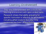 learning environment21