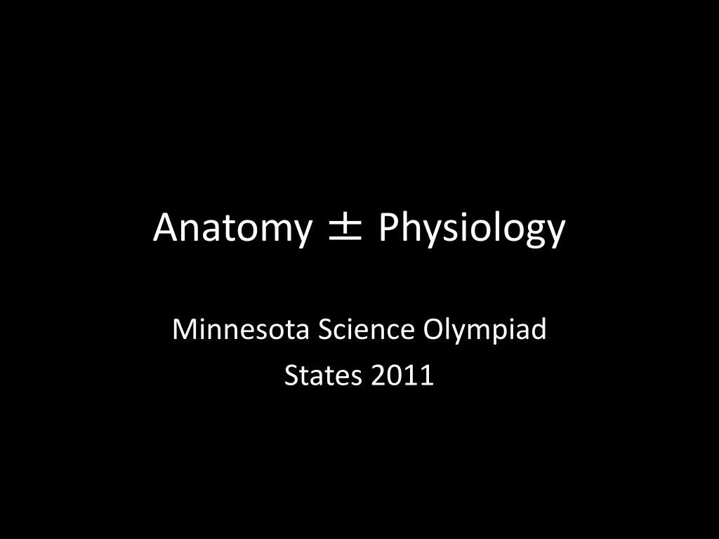 anatomy physiology l.