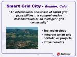 smart grid city boulder colo