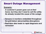 smart outage management