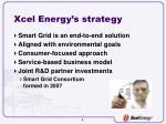 xcel energy s strategy