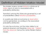 definition of hidden markov model