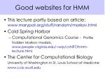 good websites for hmm