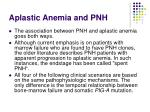 aplastic anemia and pnh