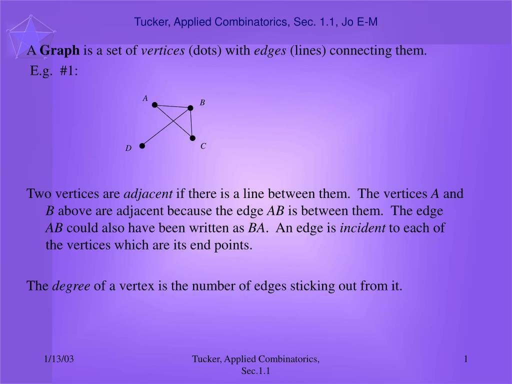 tucker applied combinatorics sec 1 1 jo e m l.