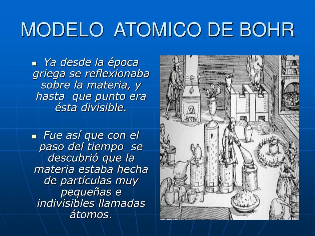 modelo atomico de bohr l.