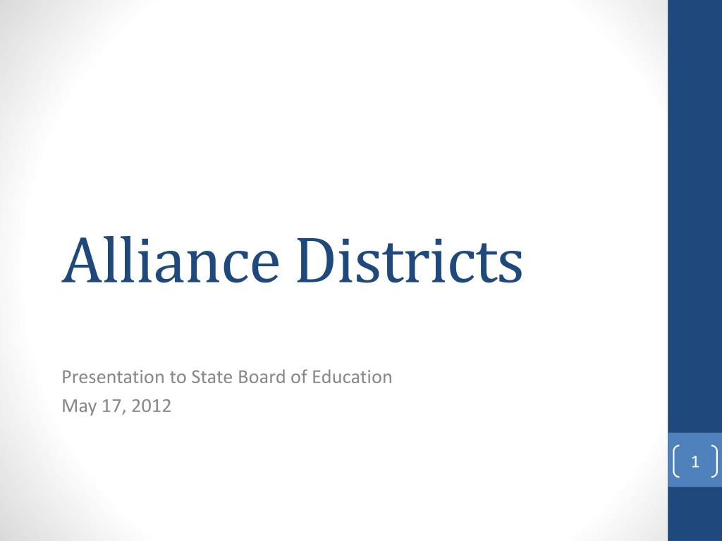 alliance districts l.