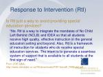 response to intervention rti18