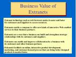 business value of extranets29