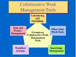 collaborative work management tools