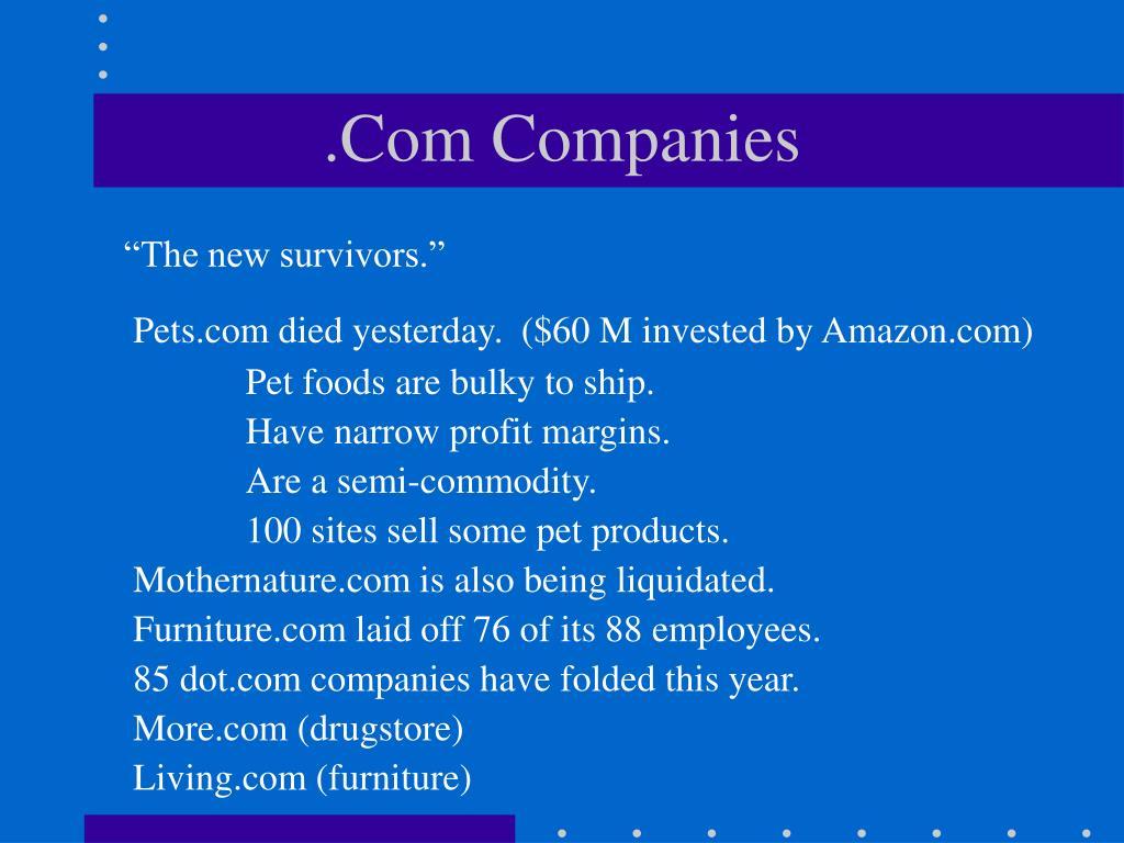 com companies l.