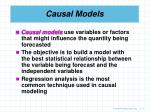 causal models