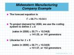 midwestern manufacturing company example50