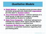 qualitative models11
