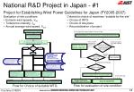 national r d project in japan 114