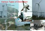 various types of destruction