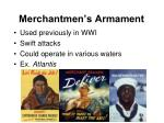 merchantmen s armament