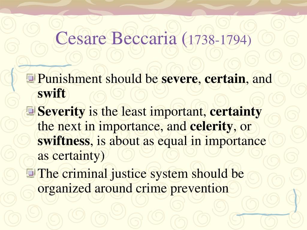 Cesare Beccaria (