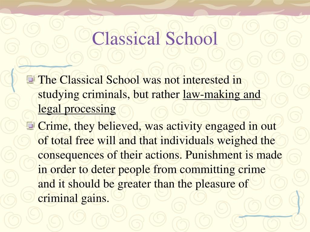 Classical School