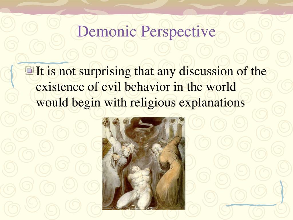 Demonic Perspective