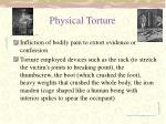 physical torture