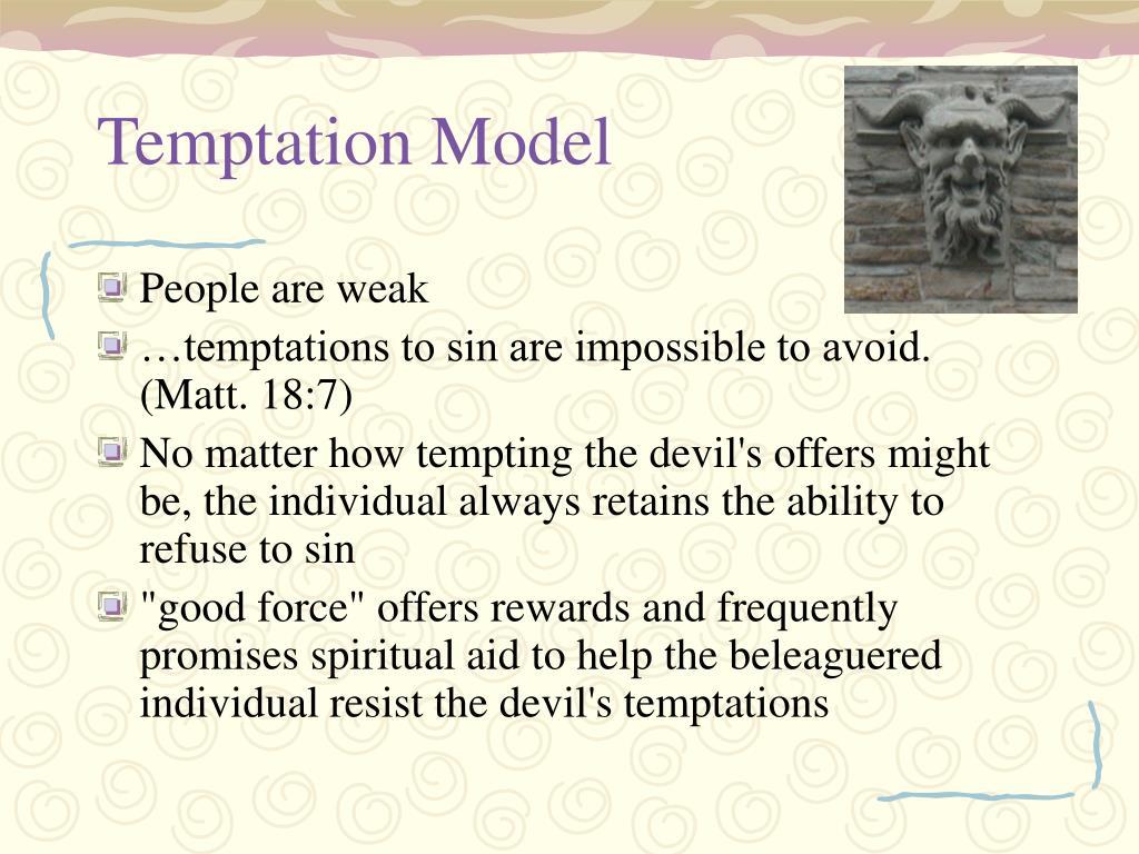 Temptation Model