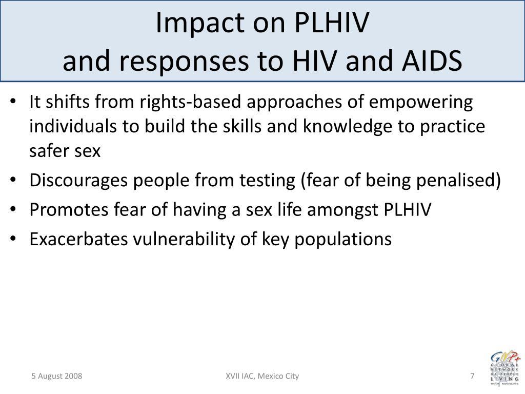 Impact on PLHIV