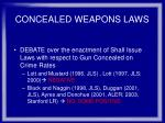 concealed weapons laws50