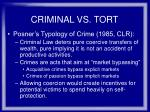 criminal vs tort