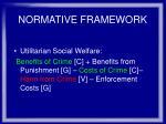 normative framework17