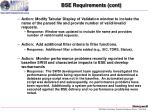bse requirements cont6
