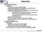 delivery plan